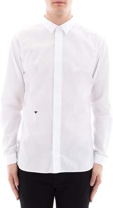 Christian Dior White Cotton Shirt