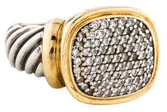 David Yurman Pavé Diamond Signet Ring
