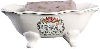 KINGSTON BRASS Savons Aux Fleurs Superfins Clawfoot Soap Dish