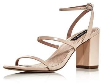 Aqua Women's Maika Block-Heel Leather Sandals - 100% Exclusive