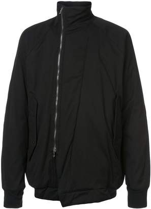 Niløs high neck zipped jacket