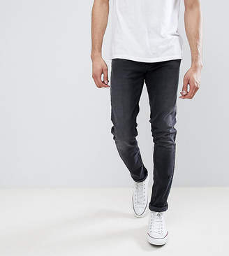 Farah TALL Drake Slim Fit Jeans in Charcoal