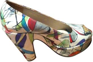 Robert Clergerie Multicolour Cloth Heels