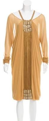 Alberta Ferretti Embellished Midi Dress w/ Tags