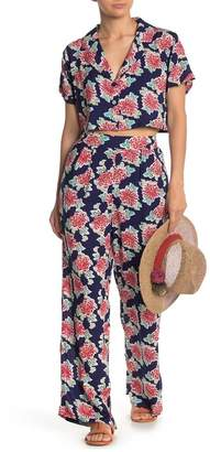 Emory Park Floral High Waisted Pants