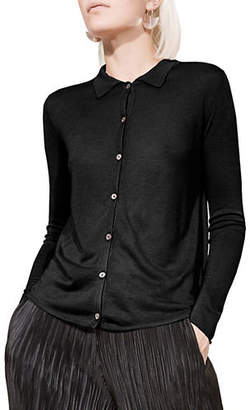 KOKUN Slim-Fit Bamboo and Cashmere Shirt