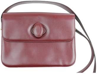 Cartier Vintage Red Leather Handbag
