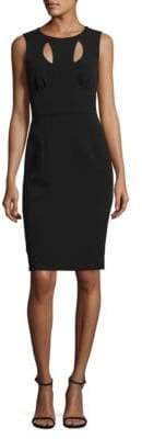 Milly Cressida Sleeveless Cutout Dress