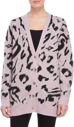 Juicy Couture Leopard Print Cardigan