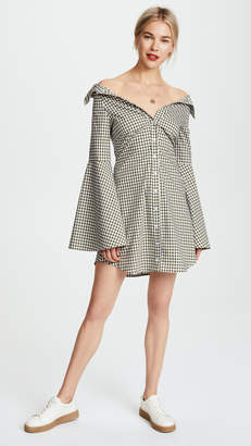 Caroline Constas Persephone Mini Dress