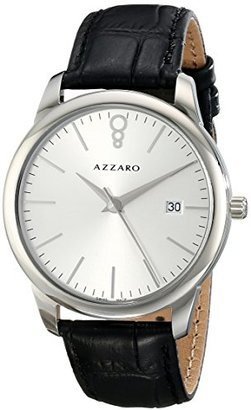 Azzaro メンズaz2040.12sb。000 Legendアナログディスプレイスイスクォーツブラックウォッチ