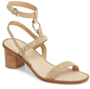 Joie Medalca Studded Ankle Strap Sandal