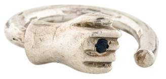 Pamela Love Sapphire Fist Ring