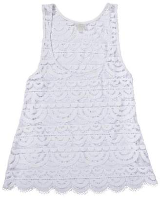 PilyQ Lace Tank $82 thestylecure.com