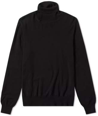 Maison Margiela Cut Out Elbow Patch Knit Sweat