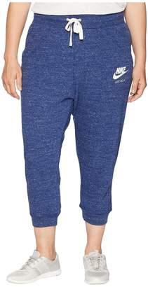 Nike Plus Size Gym Vintage Extended Capris Women's Casual Pants