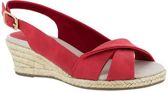 Easy Street Shoes Womens Maureen Wedge Sandals