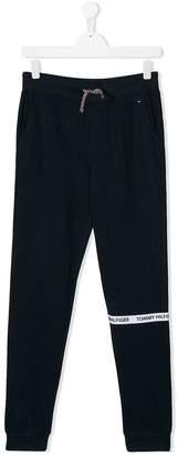 Tommy Hilfiger Junior TEEN drawstring-waist track pants