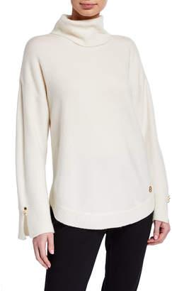 MICHAEL Michael Kors Wide-Sleeve Turtleneck Sweater