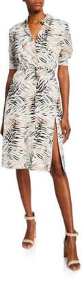 Altuzarra Mercado Short-Sleeve Shirtdress
