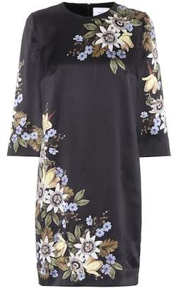 Erdem Emma floral-printed silk dress
