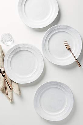 Anthropologie Glenna Dinner Plates, Set of 4