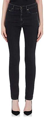 Saint Laurent Women's Stretch-Cotton Skinny Jeans