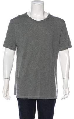 Alexander Wang Woven Crew Neck T-Shirt
