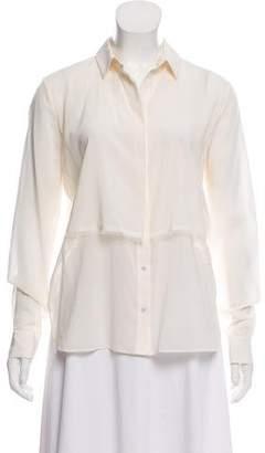 Alexander Wang Silk Button-Up Top w/ Tags