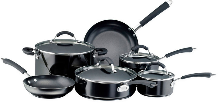 Farberware 12-pc. Porcelain Enamel Cookware Set