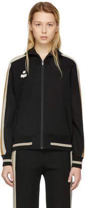 Etoile Isabel Marant Black Darcy Track Jacket