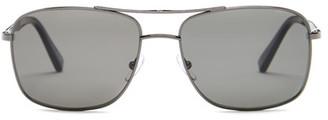 Ermenegildo Zegna Women's Metal Square Sunglasses $350 thestylecure.com