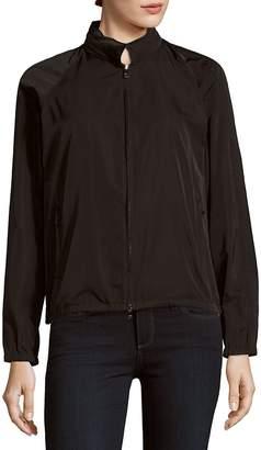 Jil Sander Women's Sport Silk-Blend Zip-Front Jacket