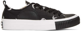 McQ Black Plimsoll Low Sneakers