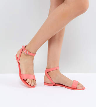 Asos FELINA Jelly Flat sandals