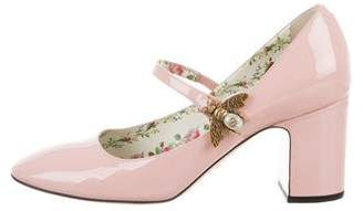 Gucci Lois Bee Mary Jane Pumps