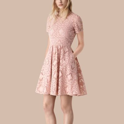 Burberry  Burberry English Lace A-line Dress