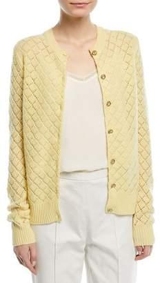 Marc Jacobs Open-Knit Cashmere Cardigan