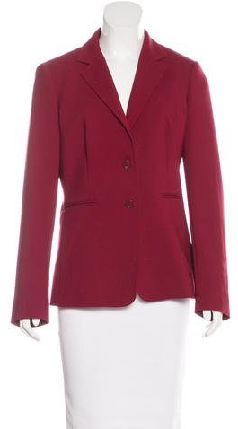 Max MaraMaxMara Virgin Wool Classic Blazer