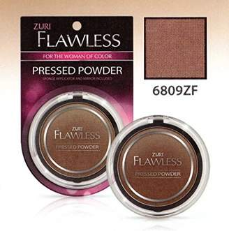 Zuri Flawless Pressed Powder - Hot Cocoa (Pack of 2)