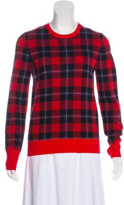 Equipment Plaid Knit Sweater
