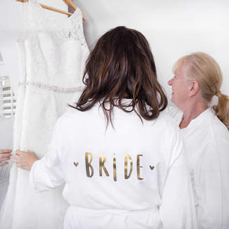 Ellie Ellie Bride Wedding Dressing Gown