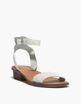 Madewell The Veronique Sandal in Snake Spot