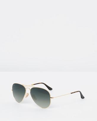 88740d3535 Ray-Ban Gold Sunglasses For Women - ShopStyle Australia