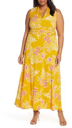 Vince Camuto Floral Getaway Maxi Dress