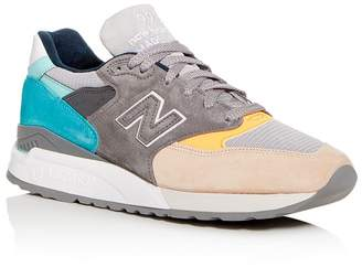 New Balance Men's 998 Made in the USA Suede Low-Top Sneakers