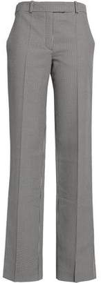 Nina Ricci Houndstooth Cotton And Silk-Blend Straight-Leg Pants