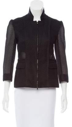 Reed Krakoff Mesh Zip-Up Jacket