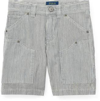 Ralph Lauren Striped Cotton Carpenter Short