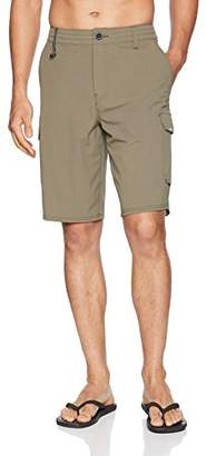 c61909811e O'Neill Men's 21 Inch Outseam Cargo Pocket Hybrid Stretch Walk Short